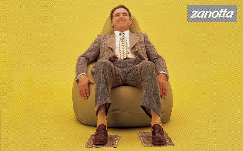 Zanotta Birne Sitzkissen Schemel und Beinauflage Sitze & Sofas  |