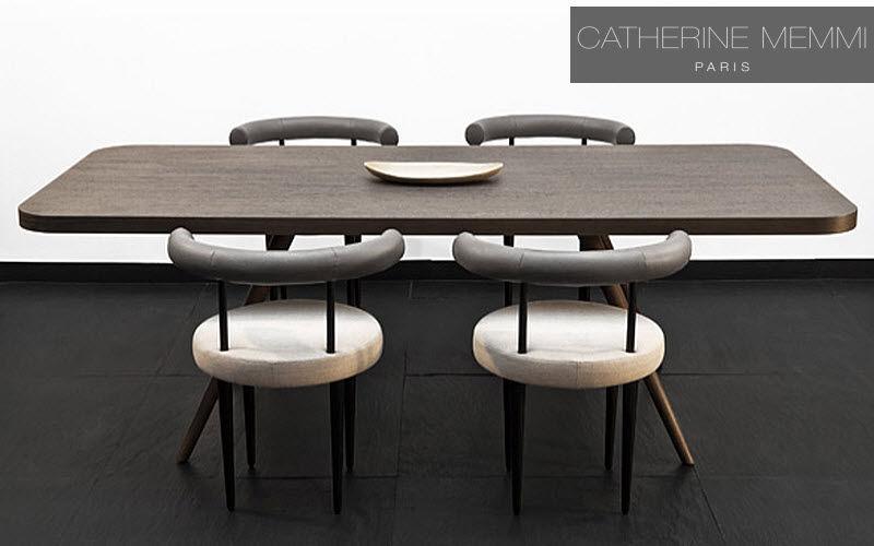 Catherine Memmi Rechteckiger Esstisch Esstische Tisch  |