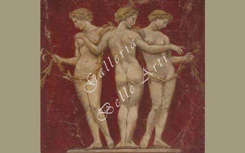 AFFRESCHI BABILONIA Freske Wandschmuck Verzierung Eingang | Klassisch