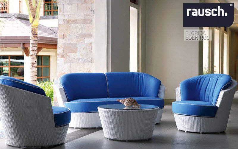 Rausch classics Gartengarnitur Gartenmöbelgarnituren Gartenmöbel Terrasse   Design Modern