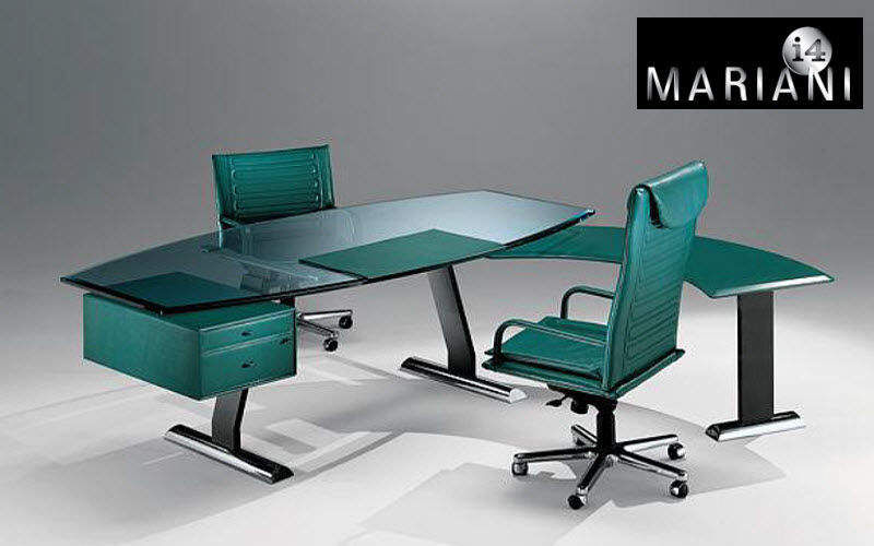 I 4 MARIANI Direktionsschreibtisch Schreibtische & Tische Büro Arbeitsplatz   Design Modern
