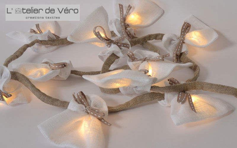 L'atelier de véro Girlande Kränze Dekorative Gegenstände Kinderzimmer | Land