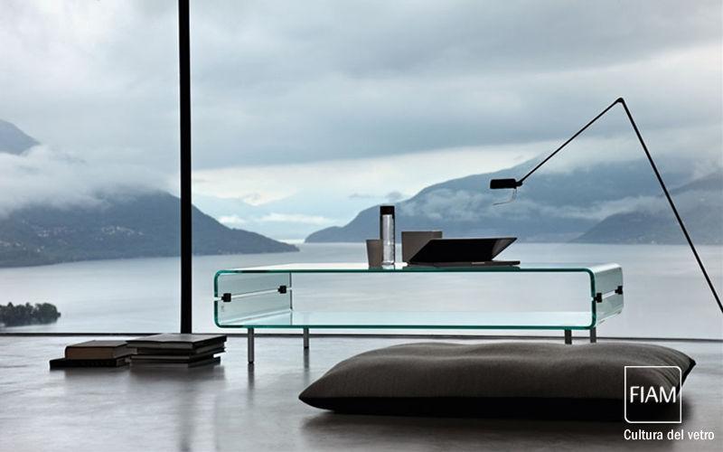 Fiam Rechteckiger Couchtisch Couchtische Tisch Wohnzimmer-Bar | Design Modern