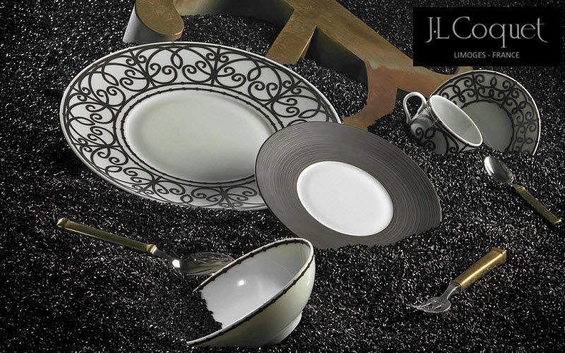Jean Louis Coquet Frühstücksservice Geschirrservice Geschirr  |