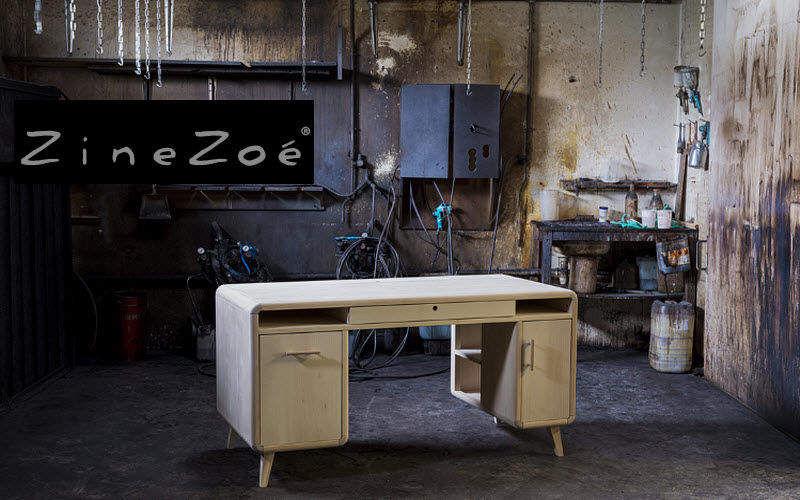 ZINEZOE Schreibtisch Schreibtische & Tische Büro   
