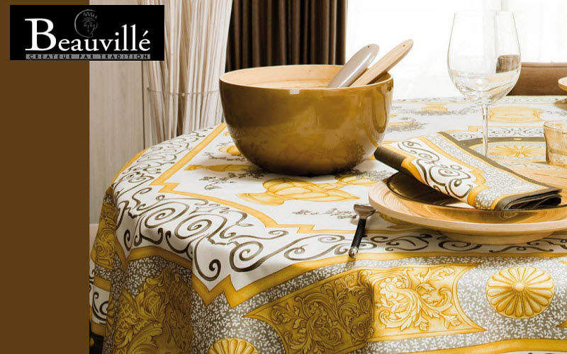 Beauville Runde Tischdecke Tischdecken Tischwäsche  |