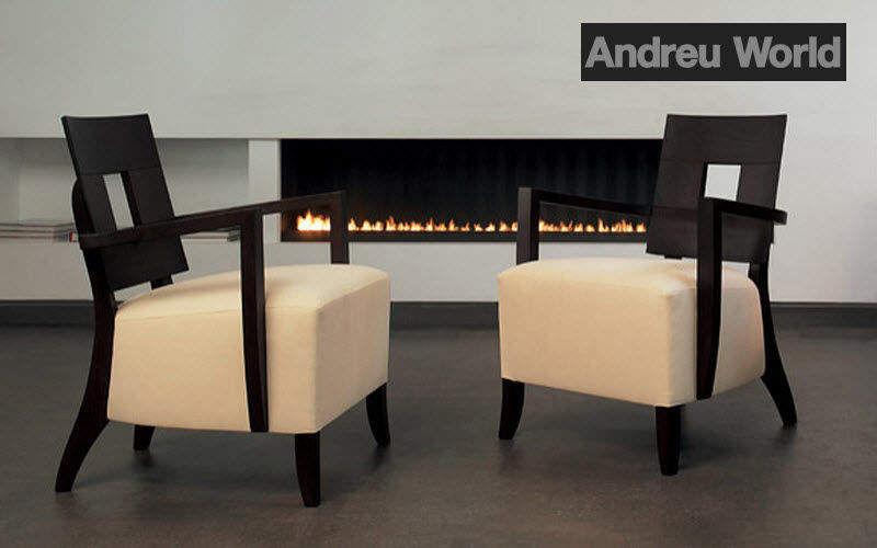 ANDREU WORLD Niederer Sessel Sessel Sitze & Sofas  |