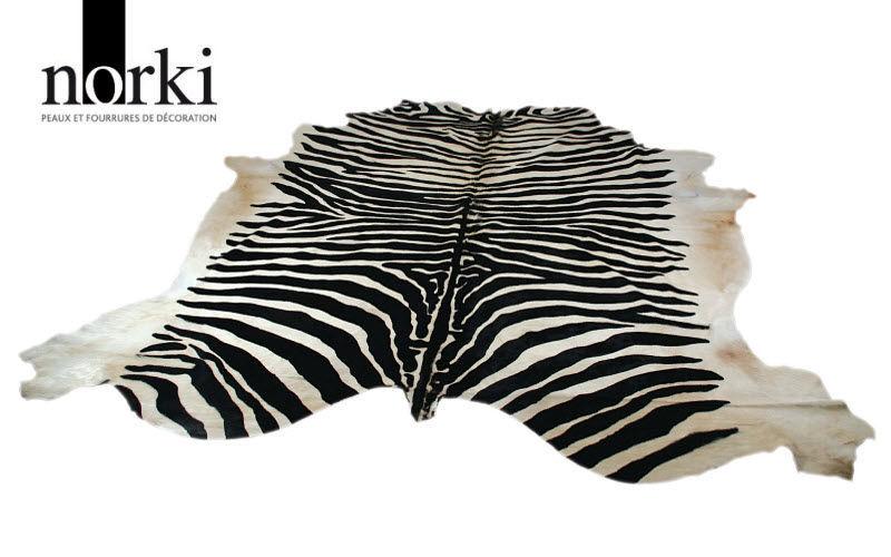 NORKI Zebrafell Tierfell Teppiche Schlafzimmer | Exotisch