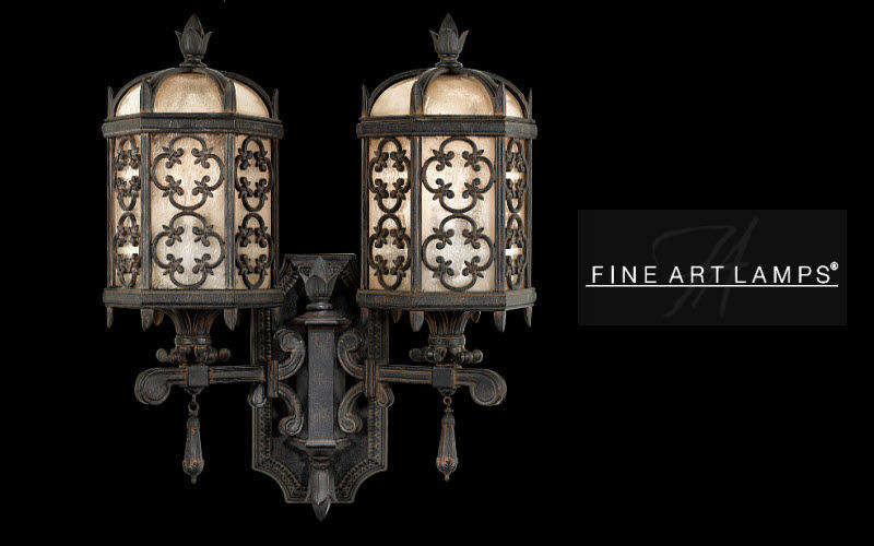 Fine Art Lamps Garten-Wandleuchte Aussen Wandleuchten Außenleuchten Terrasse | Klassisch