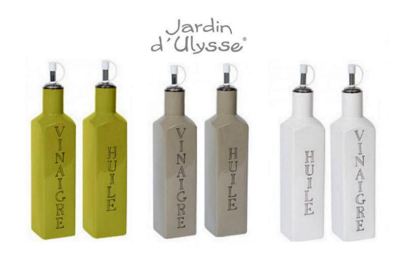 Jardin d'Ulysse Essig- und Öl-Set Gewürze Tischzubehör  |
