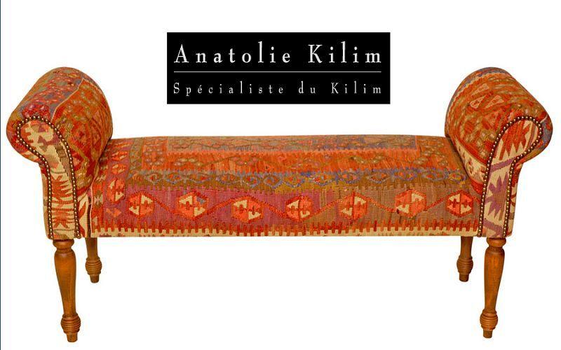 Anatolie Kilim Gepolsterte Bank Sitzbänke Sitze & Sofas  |