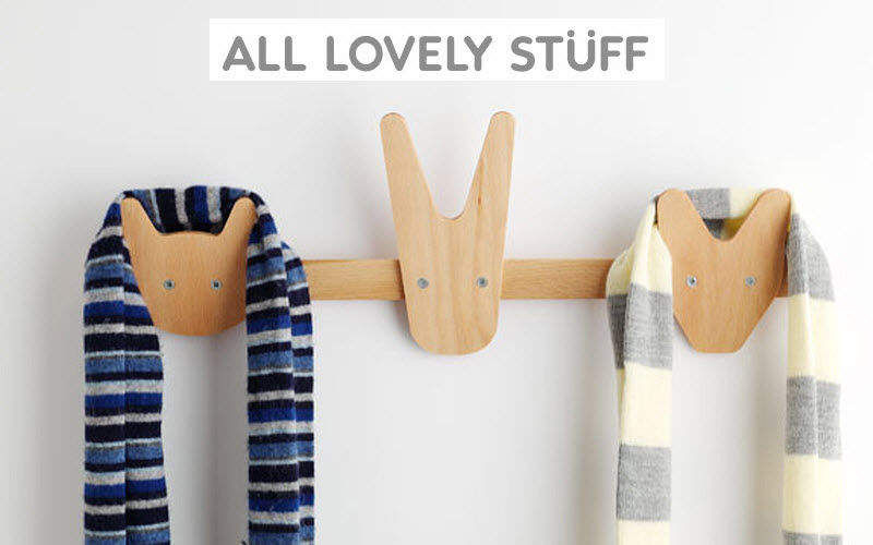 ALL LOVELY STUFF Kinder-Kleiderhaken Dekoration für Kinder Kinderecke  |