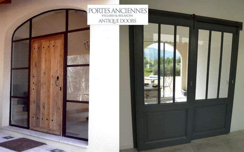 Portes Anciennes Glasverbindungstür Tür Fenster & Türen  |