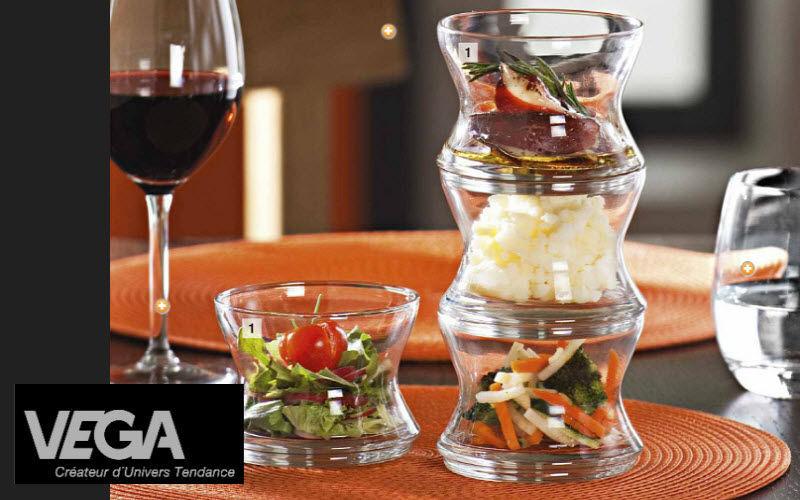 VEGA Fingerfood Glass Becher und kleine Becher Geschirr  |