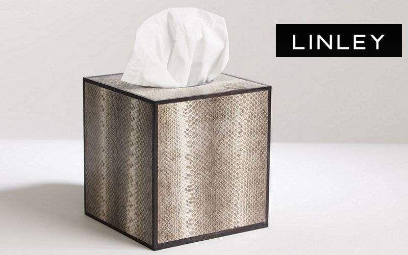 LINLEY Papiertaschentuch Behälter Badezimmeraccessoires Bad Sanitär  |