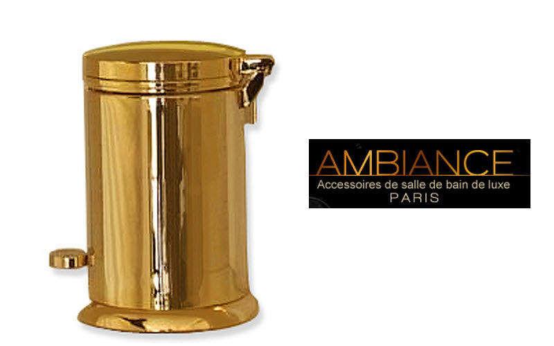 AMBIANCE PARIS Badezimmermulleimer Badezimmeraccessoires Bad Sanitär  |