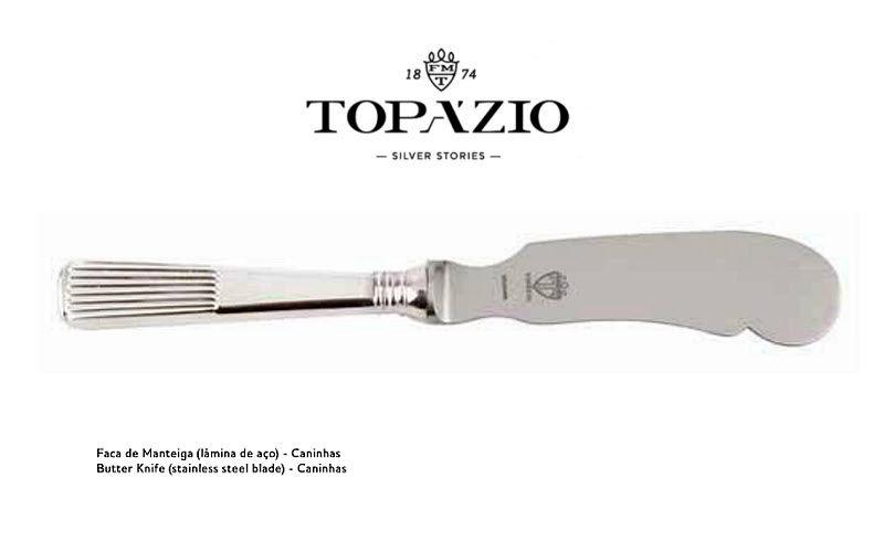 Topazio Buttermesser Messer Bestecke  |