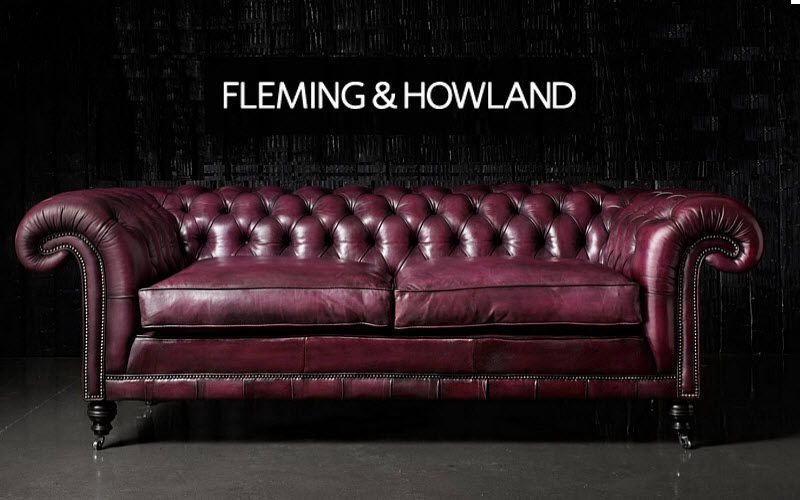 Fleming & Howland Chesterfield Sofa Sofas Sitze & Sofas  |