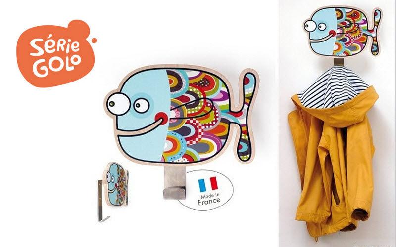 SERIE GOLO Kinder-Kleiderhaken Dekoration für Kinder Kinderecke  |