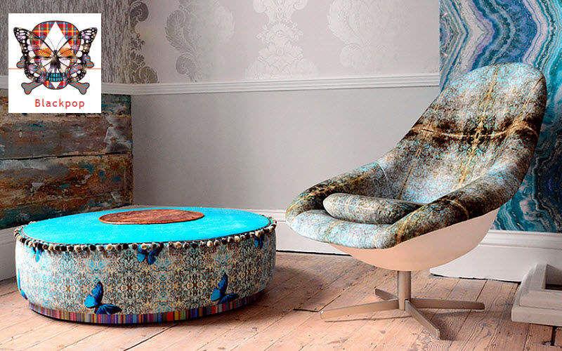 BLACKPOP Sitzmöbel Stoff Möbelstoffe Stoffe & Vorhänge  |