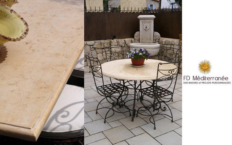 Fd Mediterranee Tischplatte Esstische Tisch  |