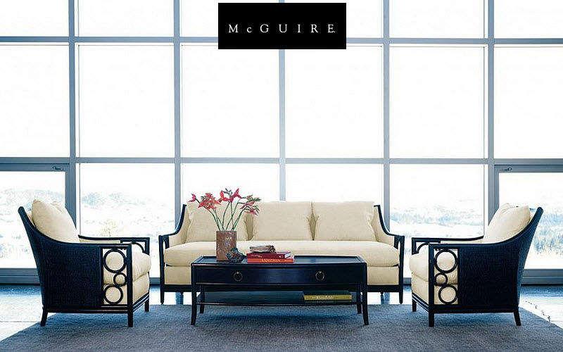 McGUIRE Wohnzimmersitzgarnitur Couchgarnituren Sitze & Sofas Wohnzimmer-Bar | Design Modern