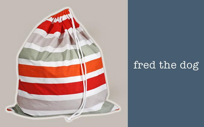 Fred the Dog Wäschebeutel Verschiedene Dekostoffe Haushaltswäsche  |