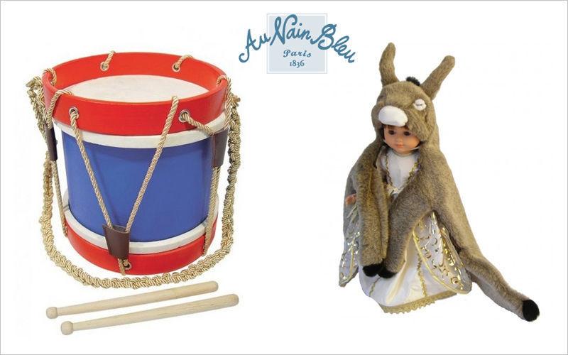 Au Nain Bleu Kindertrommel Kinder-Musikinstrument Spiele & Spielzeuge  |