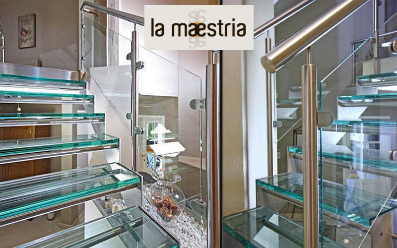 LA MAESTRIA Gerade Treppe Treppen, Leitern Ausstattung  |