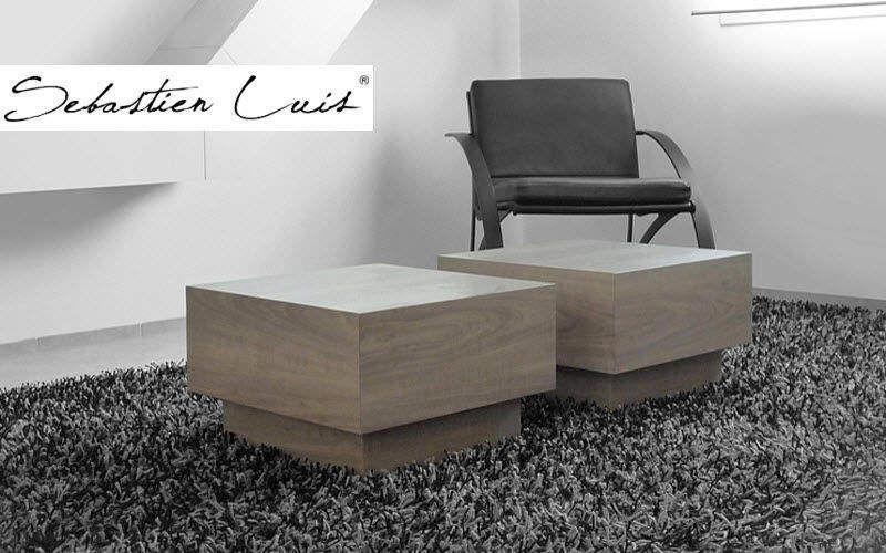 SEBASTIEN LUIS Couchtisch quadratisch Couchtische Tisch  |