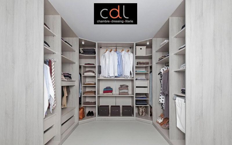 CDL Chambre-dressing-literie.com Dressing in U Ankleidezimmer Garderobe  |