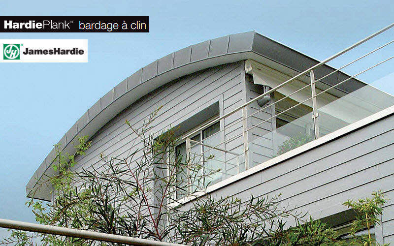 JAMES HARDIE FRANCE Wandverkleidung Außenwände Wände & Decken  |