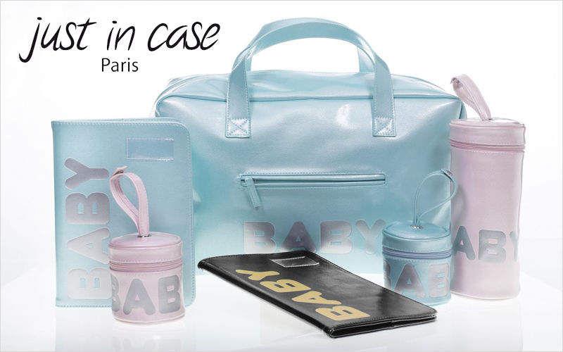 JUST IN CASE Wickeltasche Bad- und Toilettenartikel für Kinder Kinderecke  |