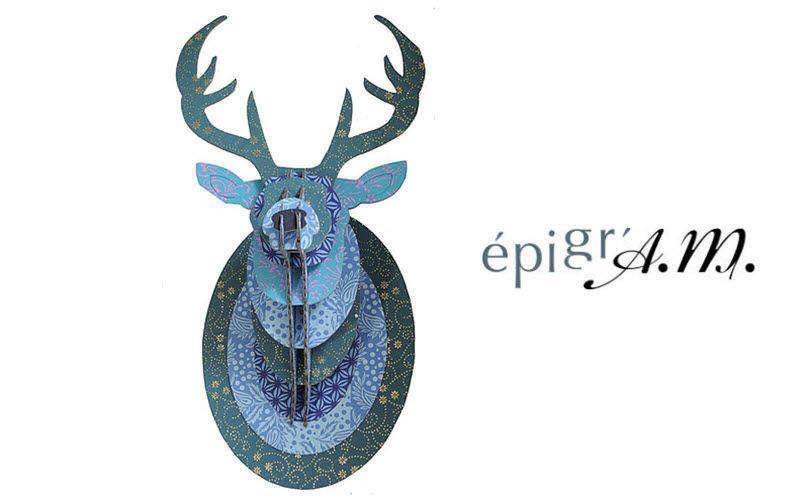 SUPPLEMENT D'AM - PAPETERIE EPIGR'AM Trophäe Verschiedene Ziergegenstände Dekorative Gegenstände  |
