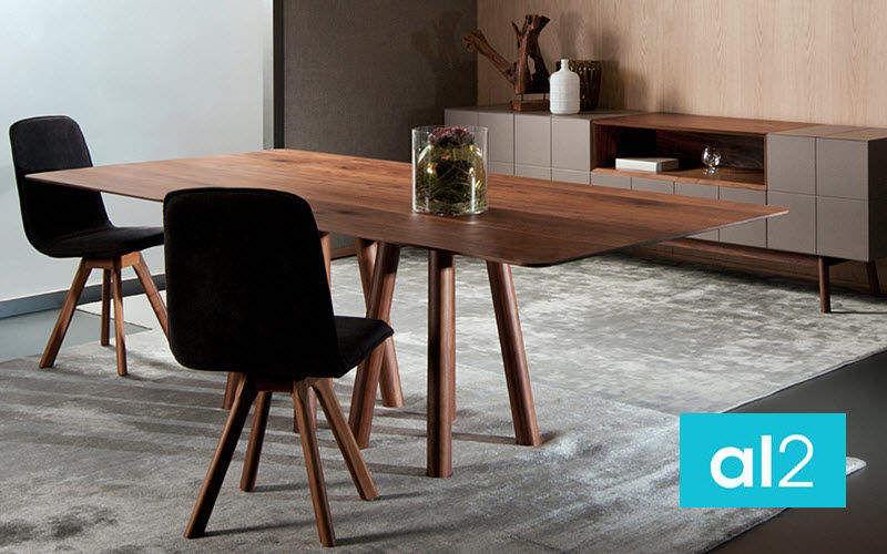 al2 Rechteckiger Esstisch Esstische Tisch Esszimmer   Design Modern