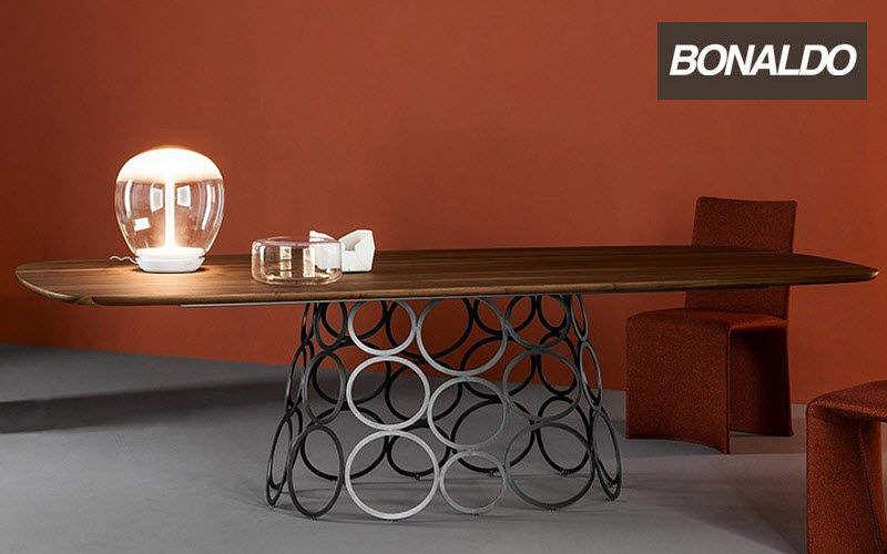 Bonaldo Rechteckiger Esstisch Esstische Tisch  |