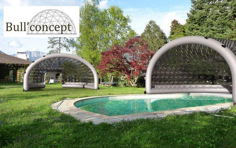 BULL CONCEPT Cubierta de piscina hinchable Schwimmbadschutz Schwimmbad & Spa  |