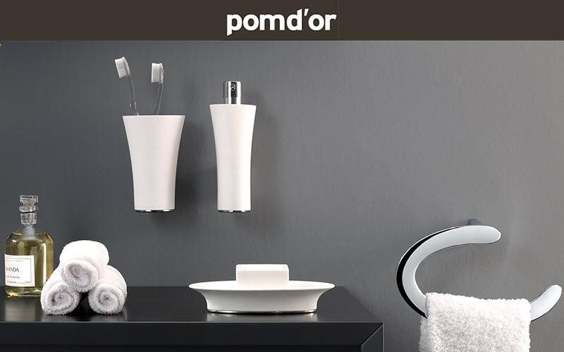 POMD'OR Badezimmerset Badezimmeraccessoires Bad Sanitär  |
