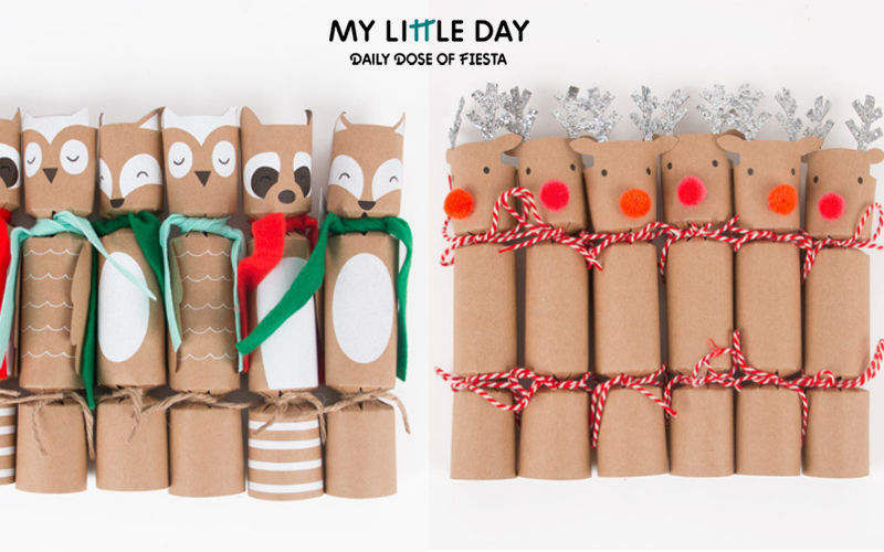 MY LITTLE DAY Crackers Partyartikel Weihnachten & Feste  |