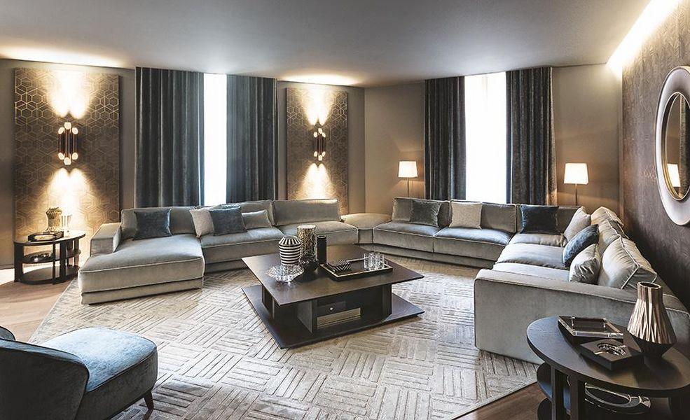 Casamilano Wohnzimmersitzgarnitur Couchgarnituren Sitze & Sofas  |