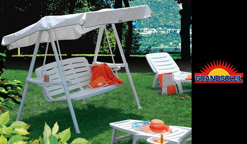 GRAND SOLEIL Hollywoodschaukel Sonstige Gartenmöbel Gartenmöbel  |