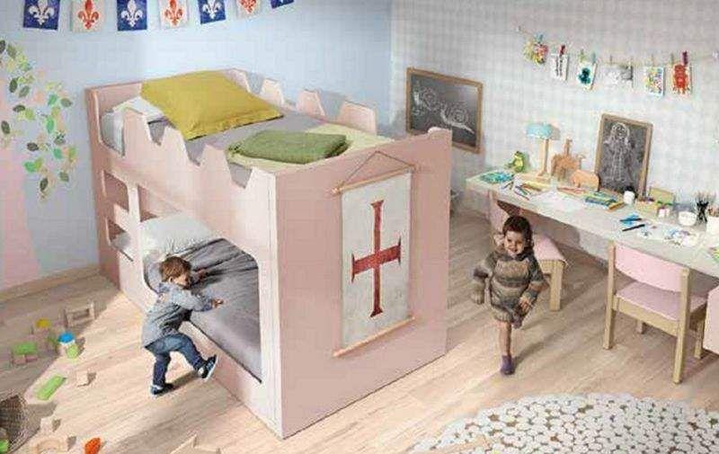 Camas Abatibles Noel Hochbett Kinderzimmer Kinderecke  |