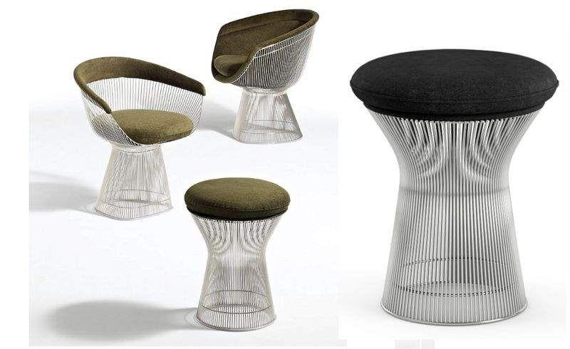 Knoll Hocker Schemel und Beinauflage Sitze & Sofas  |