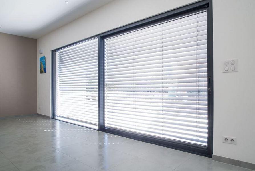 BELISOL Schiebeglasfensterfront Balkon-/Terrassentüren Fenster & Türen  |