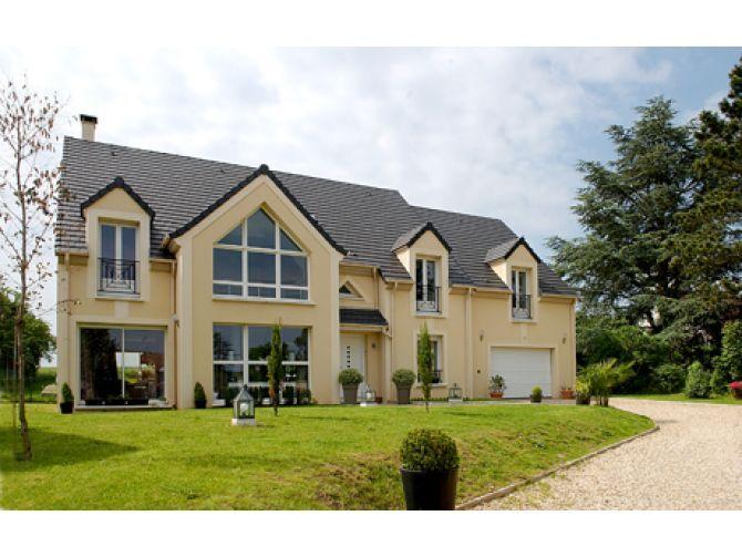 LE PAVILLON FRANCAIS Geschossiges Haus Einfamilienhäuser Häuser   