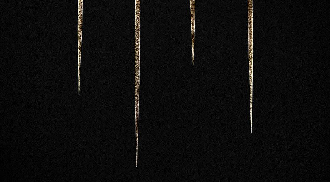 THE THIN GOLD LINE Dekobilder Wandschmuck Verzierung  |