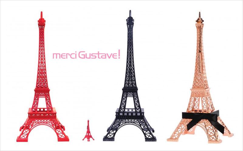 MERCI GUSTAVE Eiffelturm Verschiedene Artikel zum Verschönern Verzierung  |