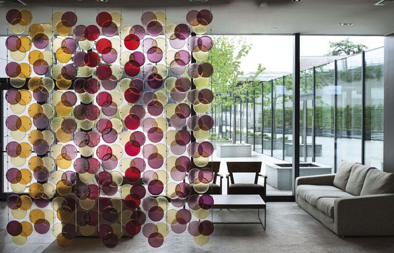Veve Glass Trennungsvorhang Trennwände Wände & Decken  |