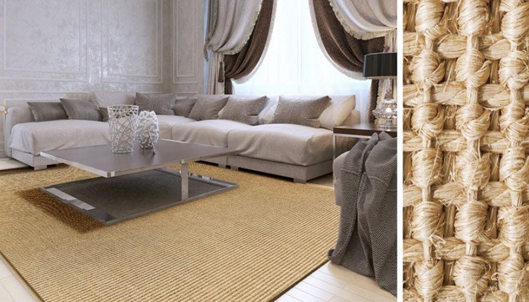 CASA PURA Teppich aus Pflanzenfaser Moderne Teppiche Teppiche  |