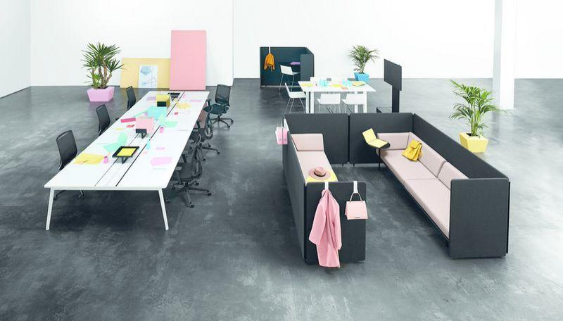 ANTONI AROLA Raum für zusammenarbeitliche Arbeit Bürostühle Büro   